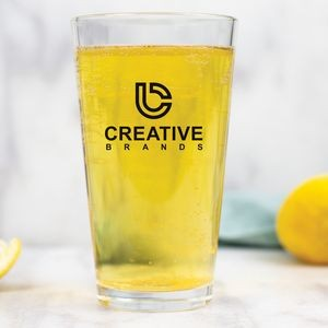 16 Oz. Pint Glass w/Screen Printed Logo